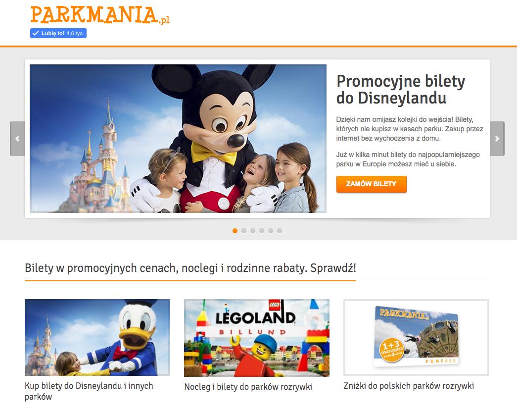 Parkmania Parki rozrywki Disneyland