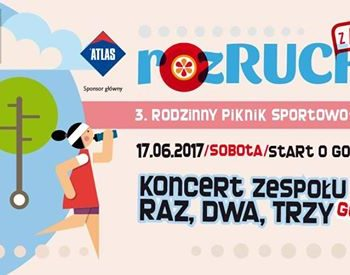 Piknik sportowy SNG i koncert Raz Dwa Trzy