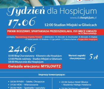 Tydzień dla Hospicjum - piknik rodzinny na Stadionie Miejskim w Gliwicach