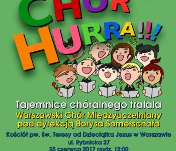 Koncert edukacyjny Chór Chór Hura!