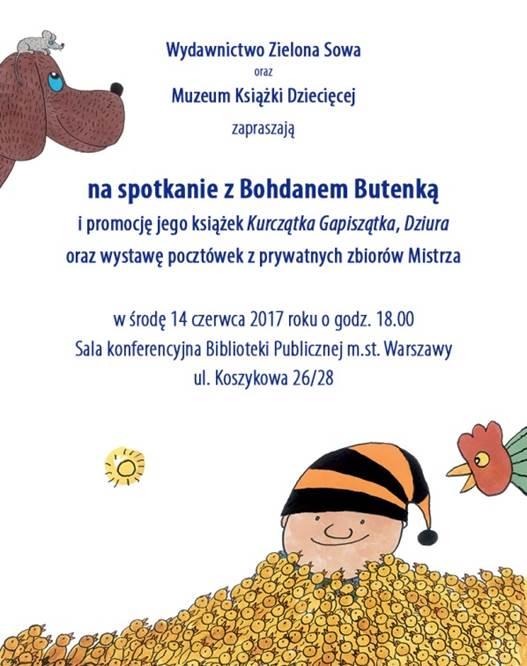 spotkanie Bohgdan Butenko dla dzieci i Rodziców w Warszawie
