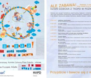 Dzień Dziecka - Terenowy Komitet Ochrony Praw Dziecka w Poznaniu