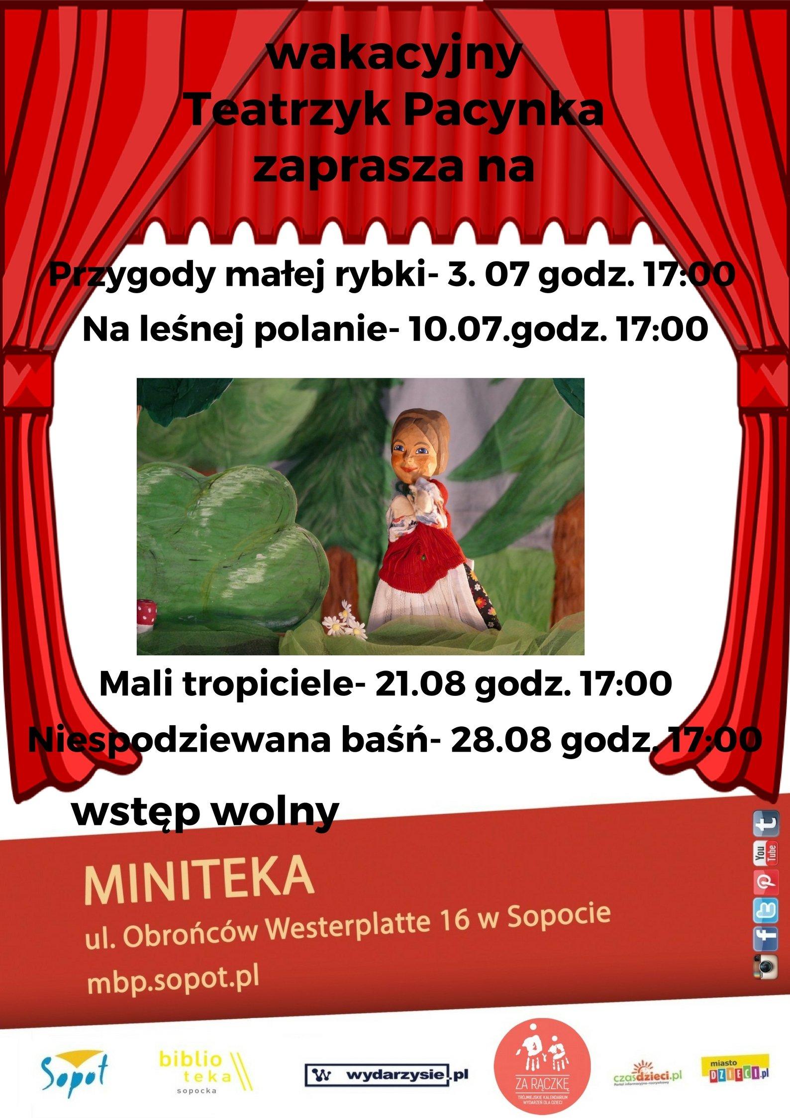 wakacyjny Teatrzyk Pacynka zaprasza na (1)