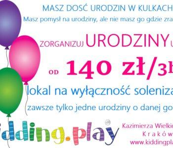 Urodziny w Kidding.play