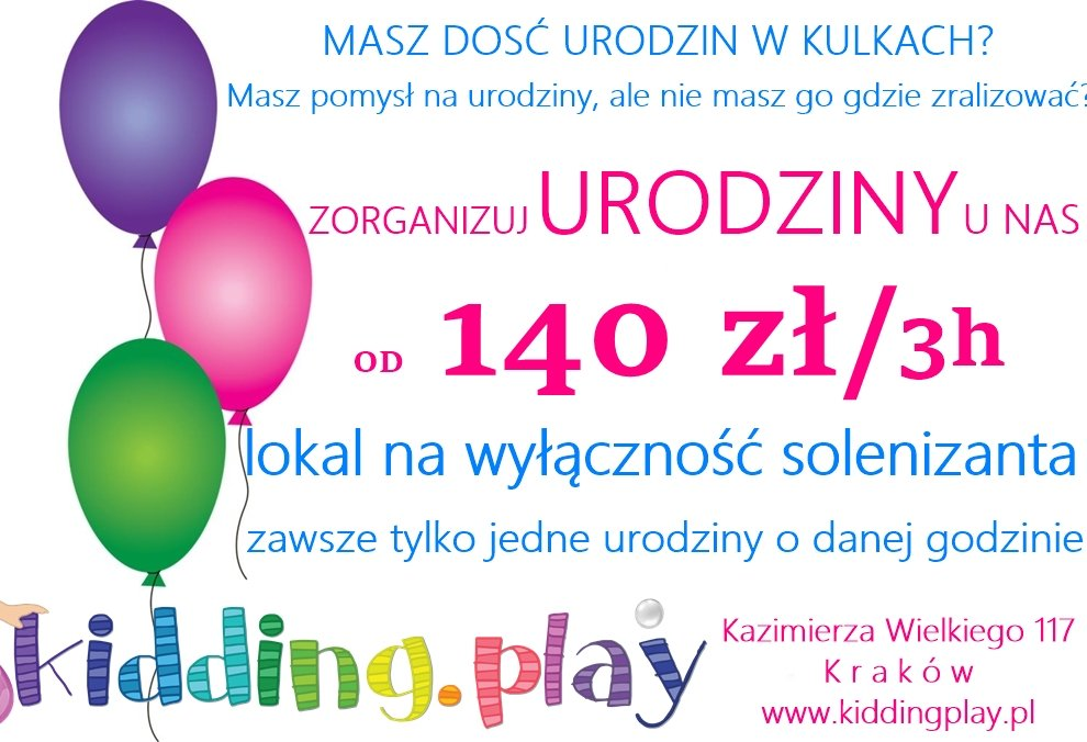 Urodziny w Kidding.play