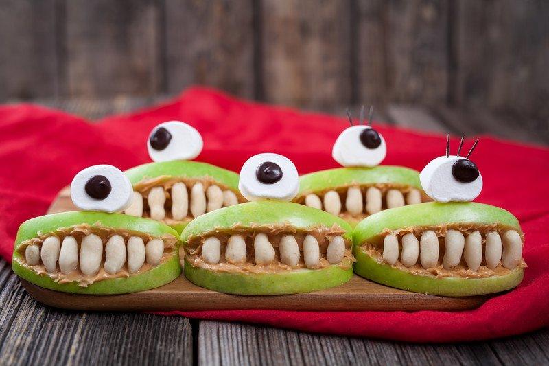 przepis na zębate jabłka