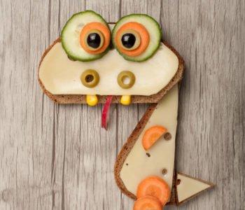 Przepis na wesołą kanapkę – smok