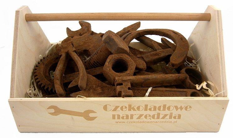 czekoladowe narzędzia