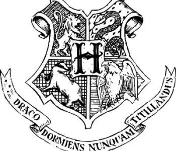 Harry Potter malowanka Hogward , kolorowanka dla dzieci