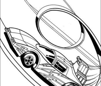 Kolorowanki hot wheels dla chłopców do druku