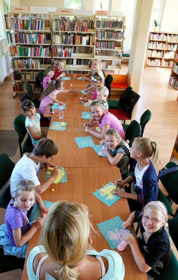 Wakacje w Bibliotece w Poznaniu