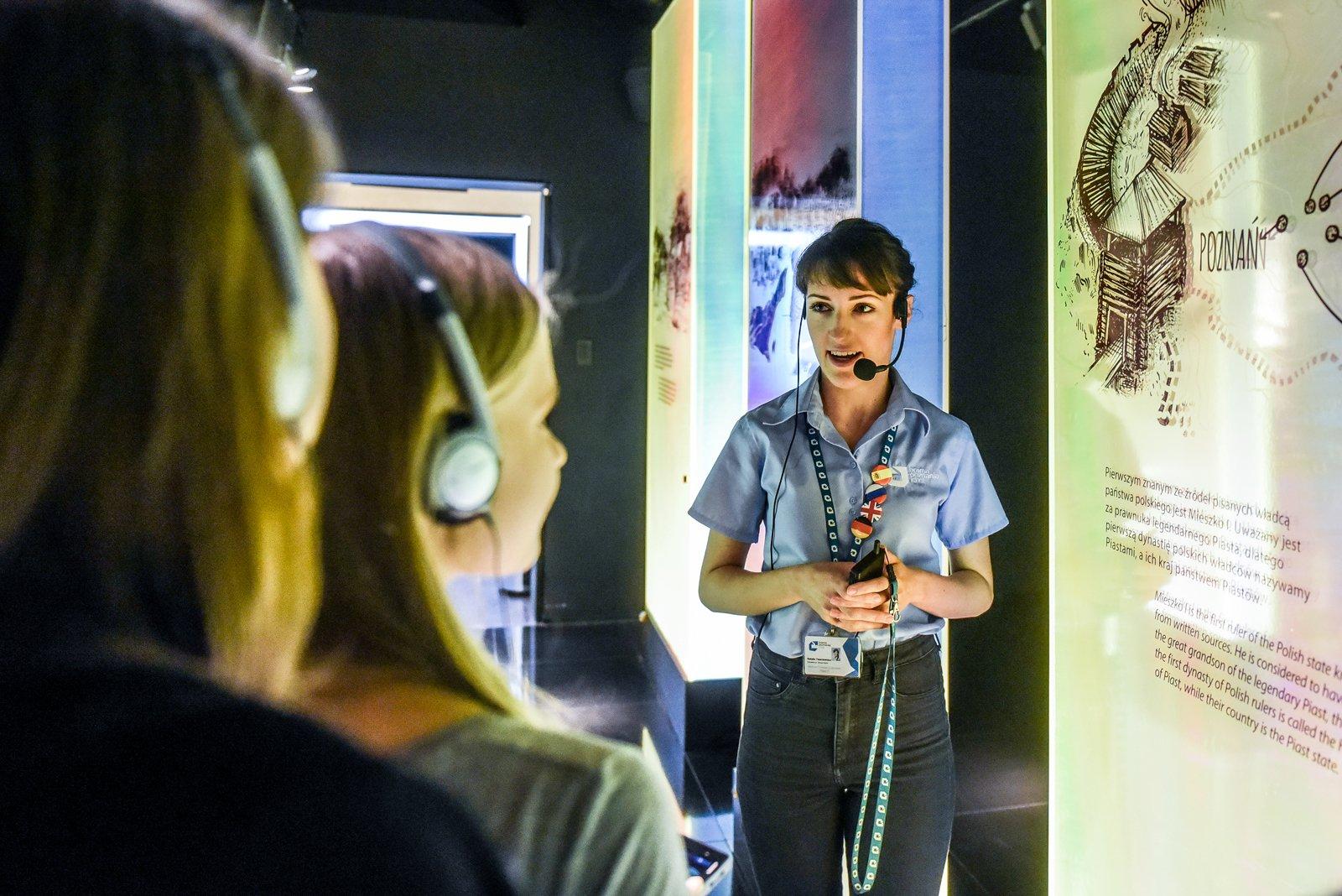 Dźwięki Ostrowa Tumskiego – oprowadzanie dla rodzin po ekspozycji