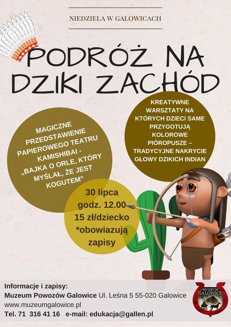 Niedziela w Galowicach – Podróż na Dziki Zachód!