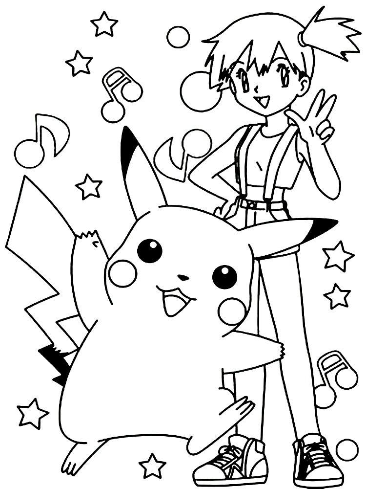 Pokemon kolorowanka do druku dla dzieci