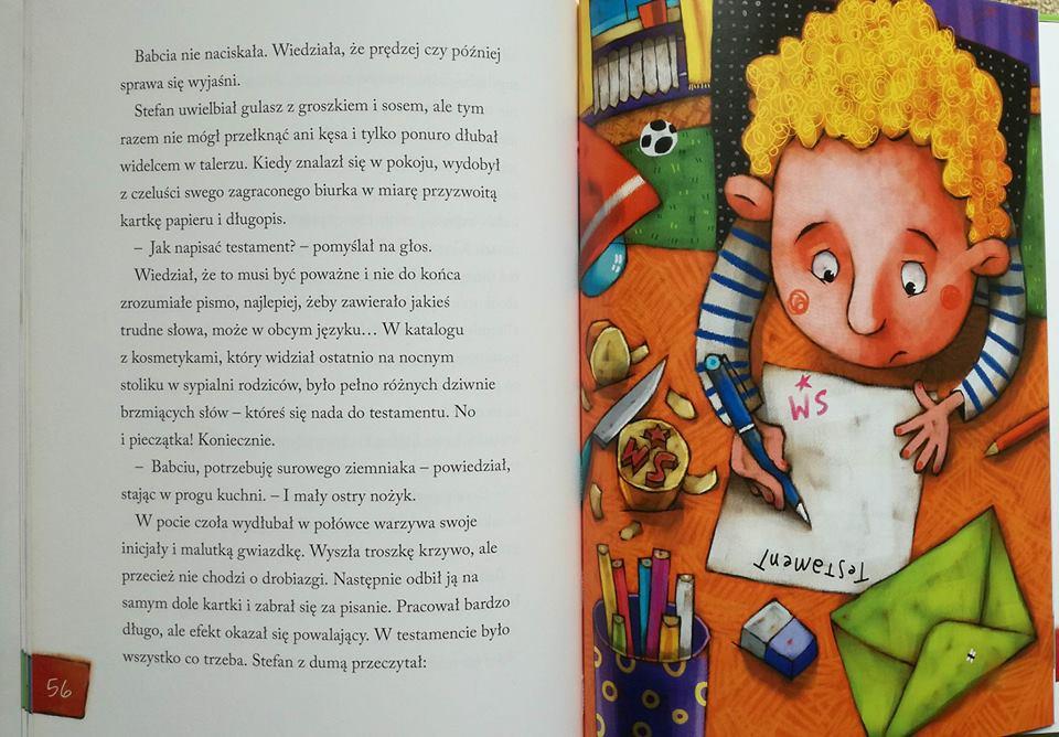 Kłopoty z ulicy Rumiankowej ilustracje