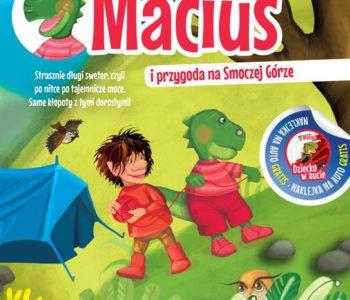 Smok Maciuś i przygoda na Smoczej Górze recenzja książki dla dzieci
