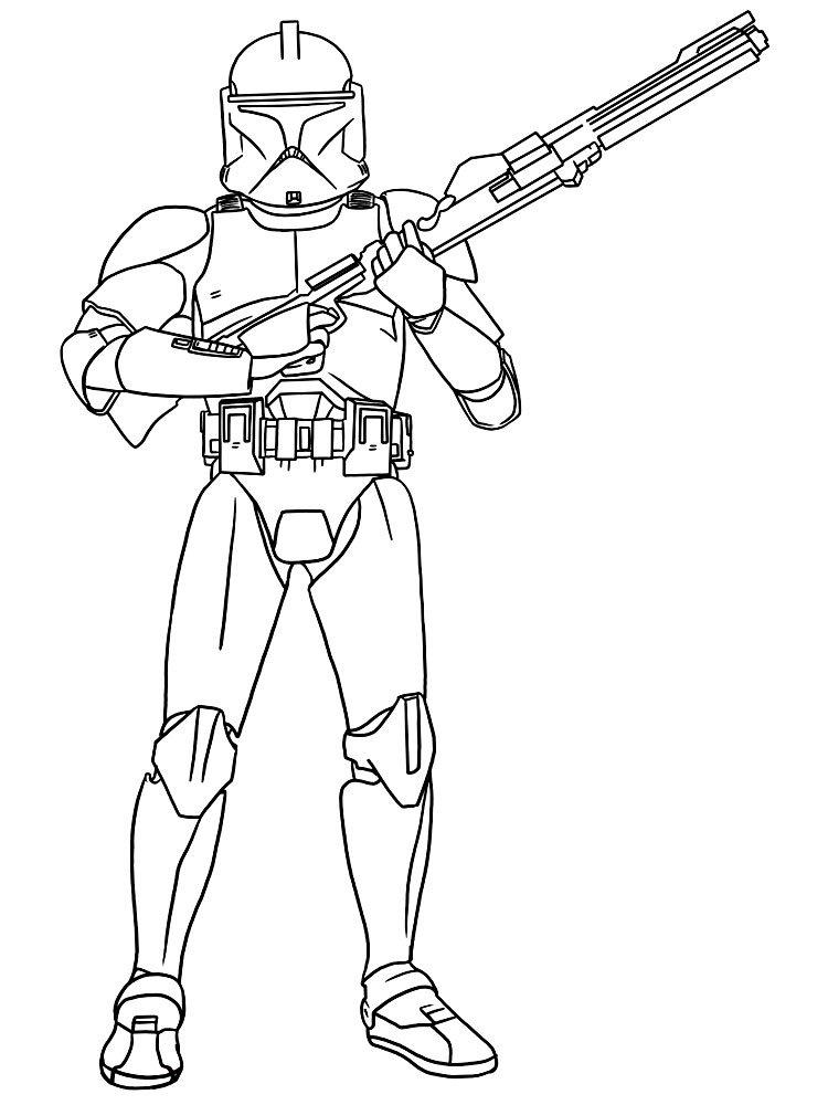 Kolorowanka Star Wars Szturmowiec Kolorowanki Gwiezdne Wojny Dla