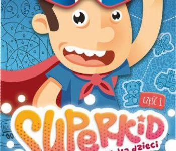 Superkid książka do nauki angielskiego dla dzieci