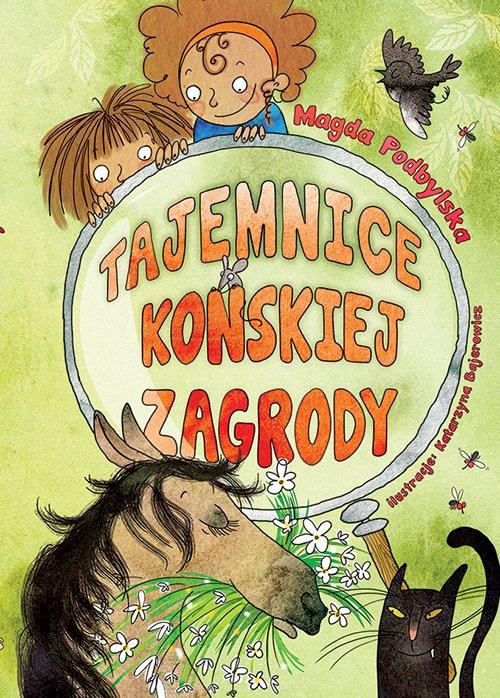 Tajemnica Końskiej Zagrody książka dla dziewczynek małych detektywek