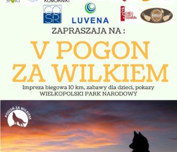 Po raz piaty startują w Pogoń za wilkiem!