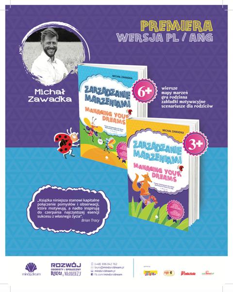 Zarządzanie marzeniami Michał Zawadka książka dla dzieci