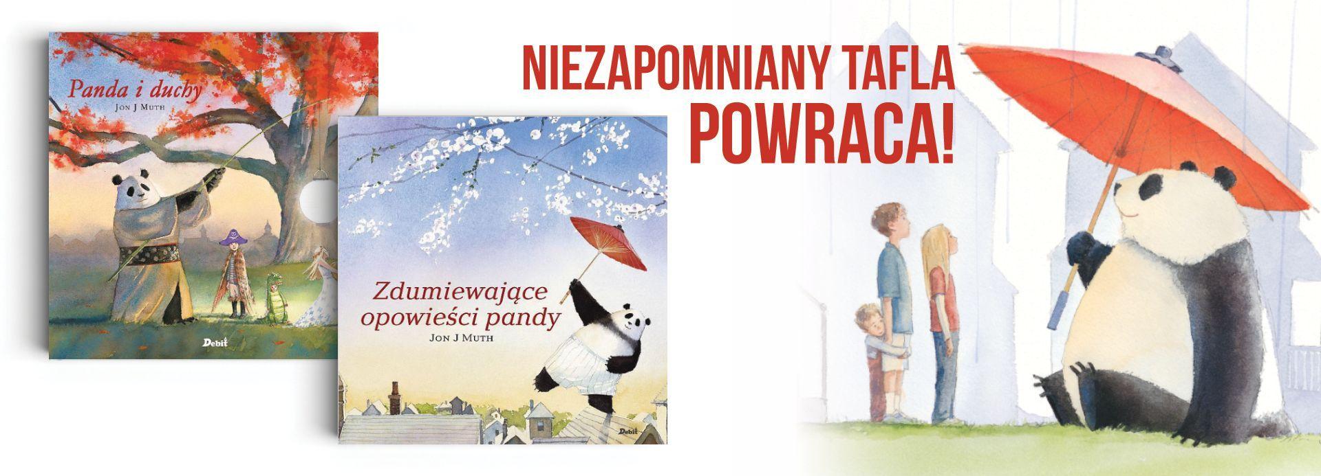 Zdumiewające opowieści pandy książka dla dzieci