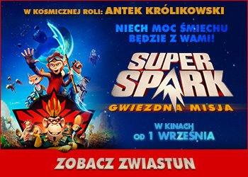 Super spark gwiezdna misja zwiastun filmu dla dzieci