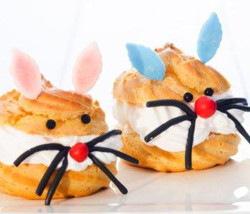 Przepis na domowe ptysie – wesołe zajączki na Wielkanoc