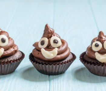 Przepis na wesołe czekoladowe babeczki muffinki z kremem