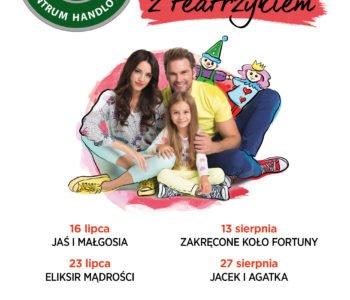 Jacek i Agatka uczą poprzez zabawę – darmowy teatrzyk w Centrum Handlowym Auchan Komorniki