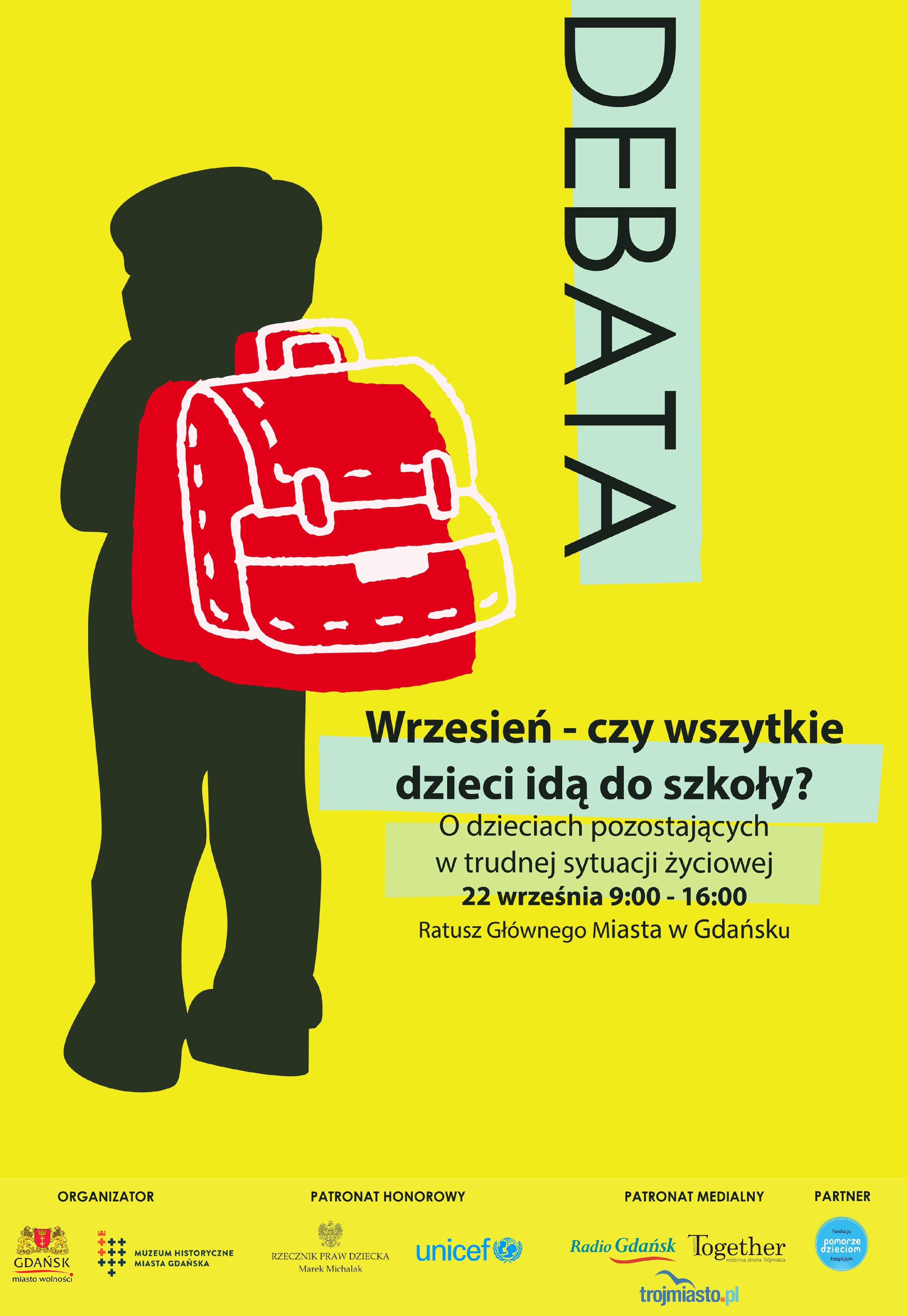 Wrzesień – czy wszystkie dzieci idą do szkoły?