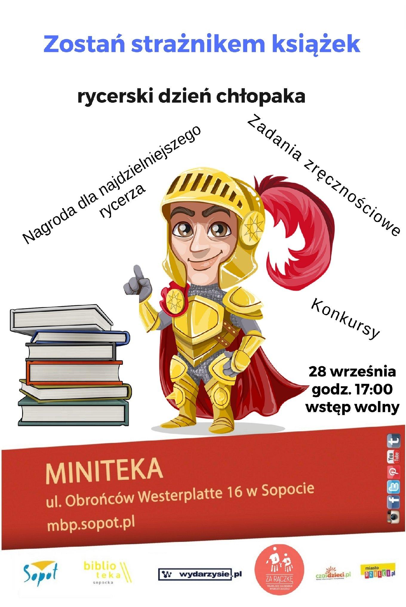 Zostań strażnikiem książek