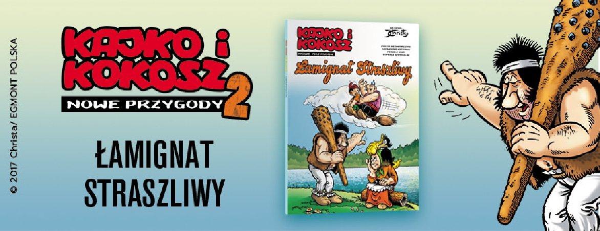 Kajko i Kokosz Łamigrant komiks dla dzieci