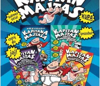 Kapitan Majtas, cztery pierwsze tomy serii