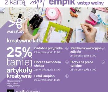 warsztaty kreatywne w Kazimierz
