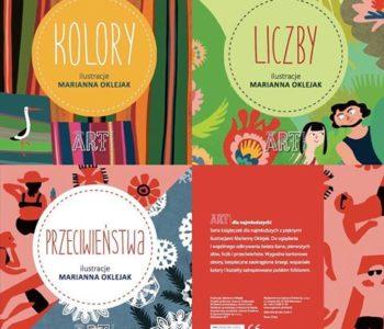 Kolory, liczby, przeciwieństwa – seria kartonowych książek dla najmłodszych