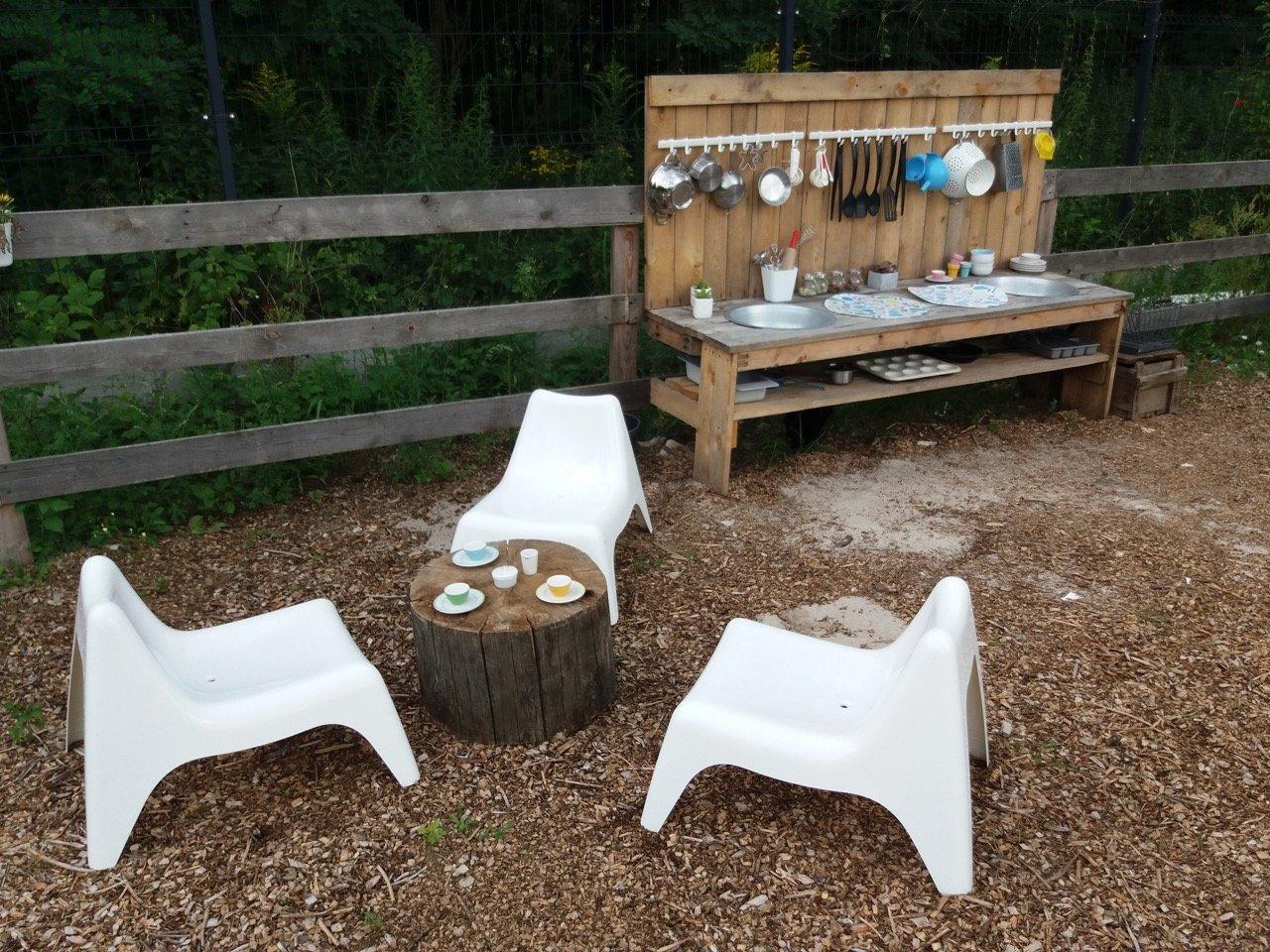 Kuchnia podwórkowa dla dzieci jak zrobić