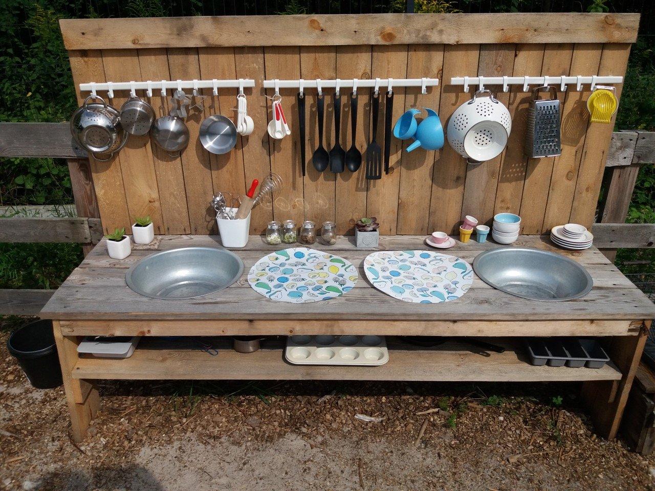 kuchnia plenerowa dla dzieci