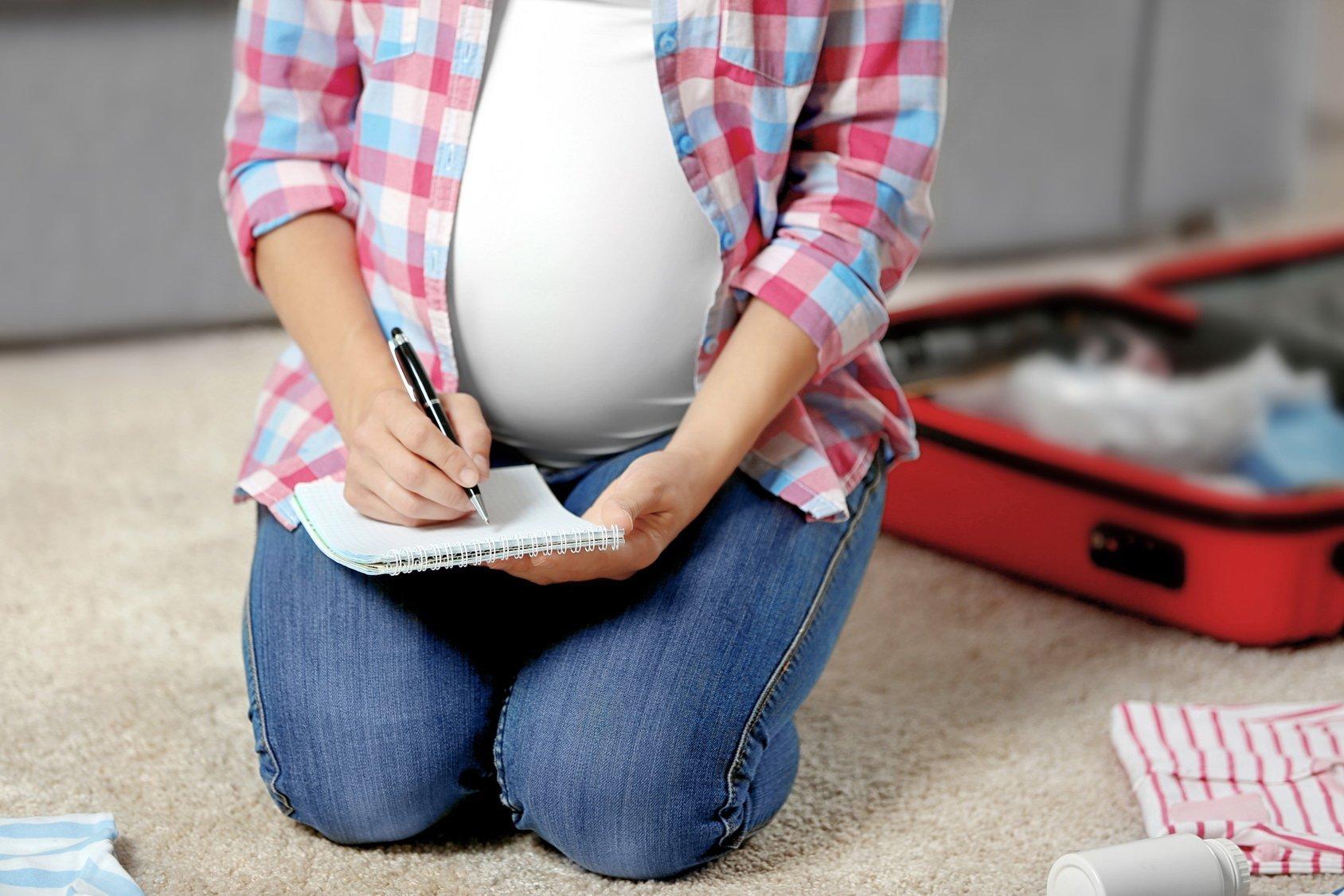 Lista rzeczy na porodówkę