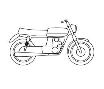 Motor kolorowanka dla chłopców do druku