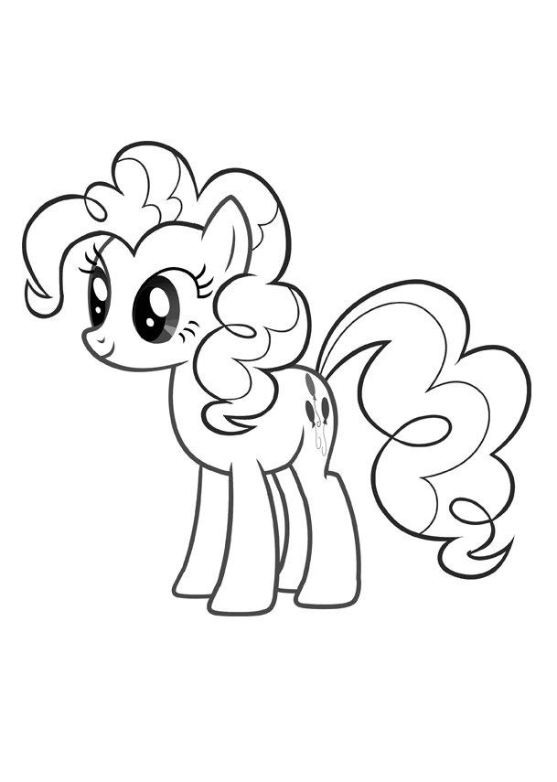 Kolorowanka My Little Pony Pinky Pie