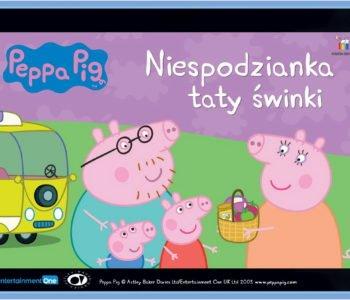 Świnka Peppa Niespodzianka Taty Świnki