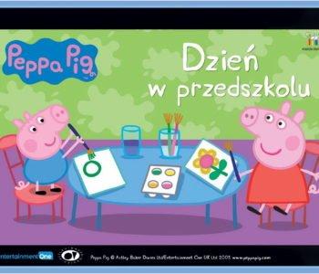Świnka Peppa Dzień w przedszkolu. Bajka do słuchania