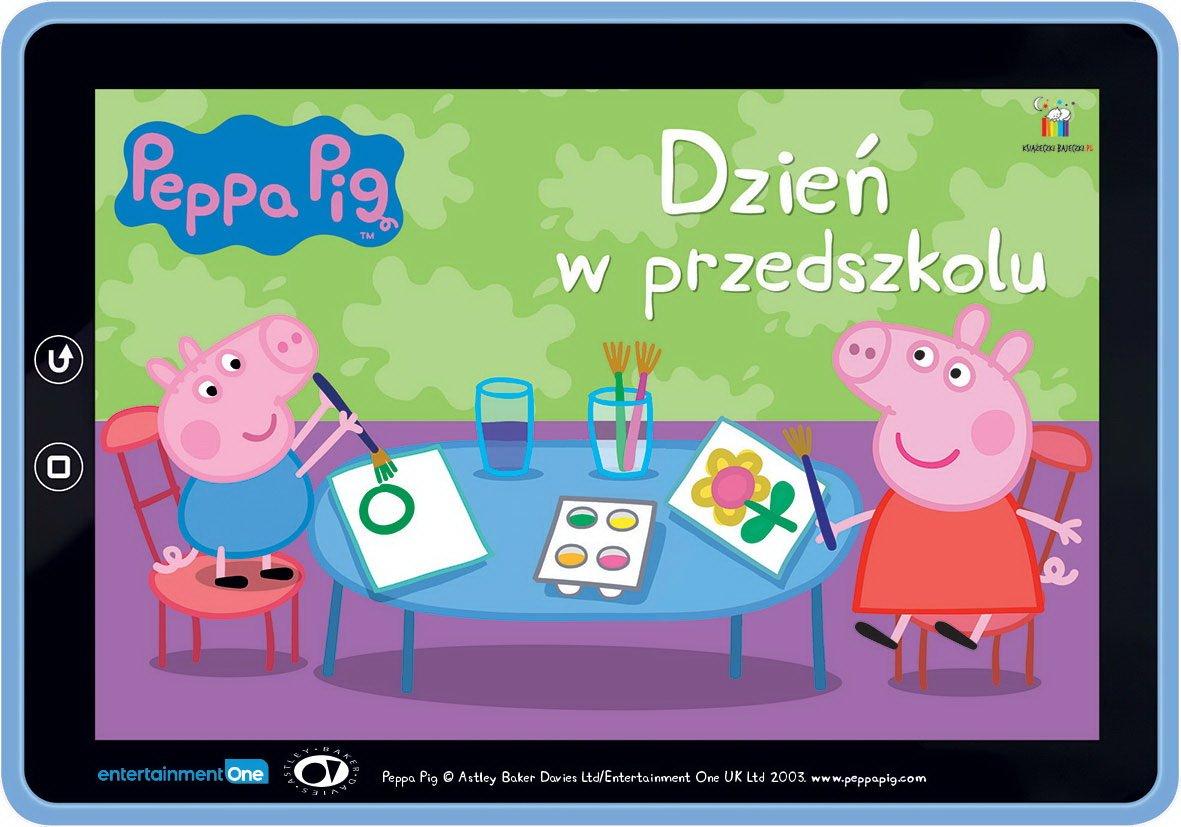 Świnka Peppa Dzień w przedszkolu do słuchania