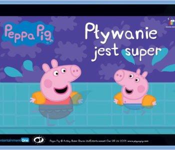 Świnka Peppa Pływanie jest super