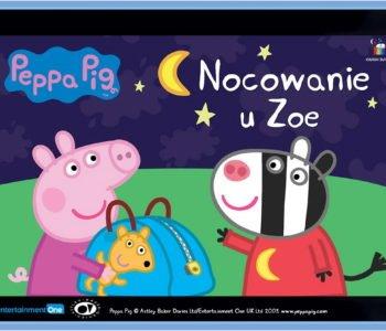 Świnka Peppa Nocowanie u Zoe bajka do słuchania