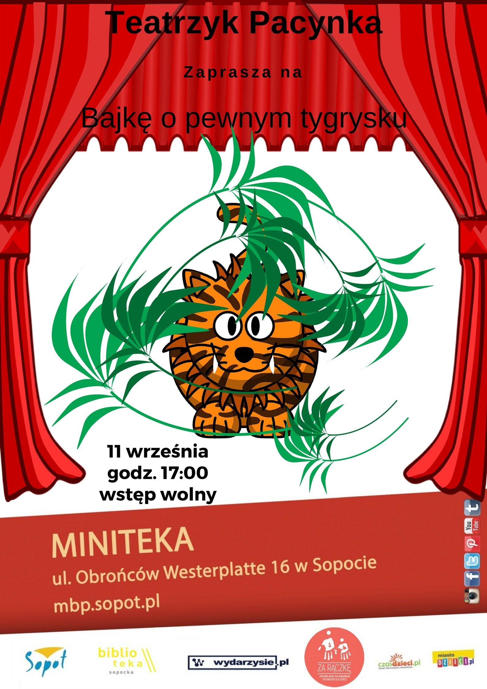 """""""Bajka o pewnym tygrysku"""" w Minitece"""
