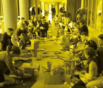 Tekturowo - wakacyjny cykl warsztatów dla dzieci w Barbarze