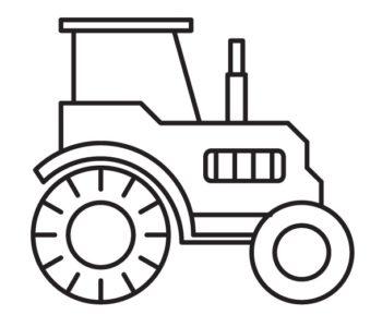 Traktor malowanka dla chłopców pojazdy