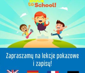 Zajęcia pokazowe i zapisy do szkoły Lokomotywa. Pociąg do języka